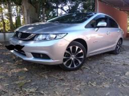 Honda Civic LXR 2.0 ano 2016, Completasso, IMPECÁVEL