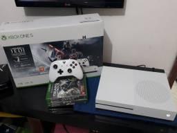 Vendo Ou Troco Xbox One S Novo