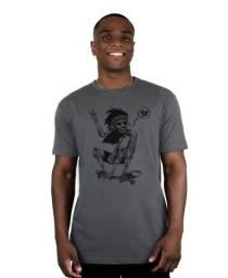 Camisa masculino Ventura Jamon Chumbo Skate Skatista Curta