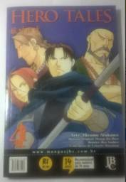 Mangá Hero tales volume 4