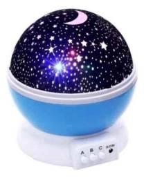 Luminária Projetor De Estrelas Galaxy Abajur