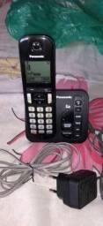 Vendo telefone sem fio com secretaria eletrônica  e 1 câmera digital