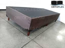 Base Box Solteiro - Várias Cores - Nova - Com Garantia