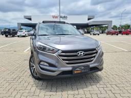 Hyundai - New Tucson GLS 1.6 Turbo - 2018 (C/ Teto Solar/ Impecável)