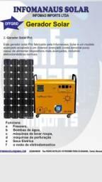 geradores de energia e placas de energia solar, Infomanaus solar