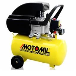 Motocompressor de ar Monofásico cmi 7,6 Pés 24L 2hp - 220V