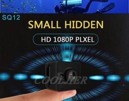 Mini filmadora Quelima SQ12 - À prova D'Água - Full HD