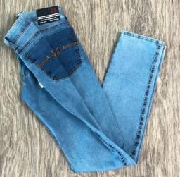 Calças jeans masculina Michael Jhons