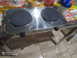 Título do anúncio: Vendo fogão novo na garantia