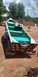 Conjunto Barco, carretinha e motor