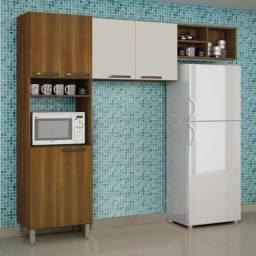 Cozinha Compacta 3 Peças Com Nicho Granada BTV1