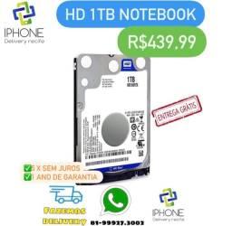Hd 1TB para Notebook (Entrega Grátis) 1 Ano de Garantia