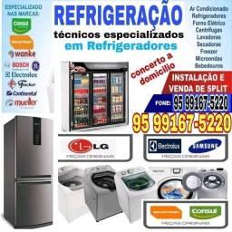 Concerto de geladeiras( serviço a domicílio)