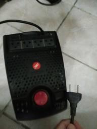 Título do anúncio: Estabilizador Microsol 300v com 4 tomadas