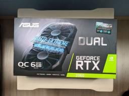 [OLX Pay] Placa de Vídeo NVIDIA ASUS RTX 2060 DUAL OC Edition - 6gb