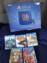 Título do anúncio: PS4 1TB azul