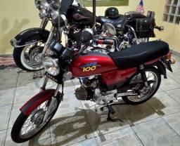 Dafra Super 100 2015 - 6.000 Kms - Estado de Nova!