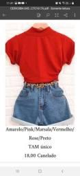 Blusas,shorts.