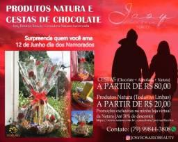 Cestas de Chocolate (Dia dos Namorados)