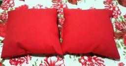 Almofadas, travesseiros,colchas...