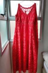 Vestido de festa cor vermelha