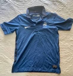 Camisa Oficial Nike (12 anos infantil) - Seleção França