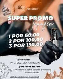 Promoção tatuagem
