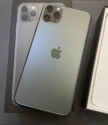 Iphone 11 ProMax  Midgreen 64gb/ aceito troca em 7 e superior.