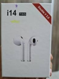 Fone Bluetooth i14 lançamento novo zerado