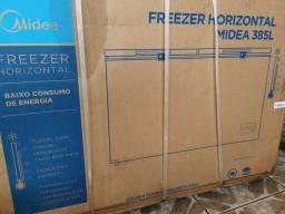 Freezer horizontal midea 385l 220v