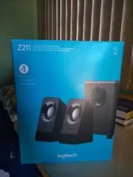 Título do anúncio: Caixa de som USB para PC/Notebook Logitech Z211
