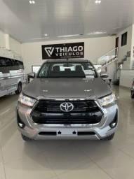 Título do anúncio: Toyota Hilux CdSrv 2.8 4x4 2021 Diesel Pronta Entrega