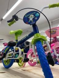 Temos bicicleta pra criança 3 anos promoção aro 12 infantil