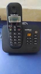 Título do anúncio: Telefone sem fio com secretaria Intelbras (NOVO)