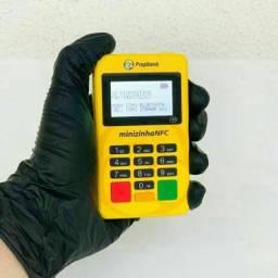 Aceite cartão por aproximação - Minizinha NFC - Bluetooth - Maquininha de Cartão