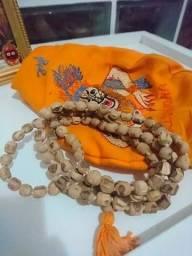 Japamala Tulasi Krishna + Bag De Tecido Narasimha