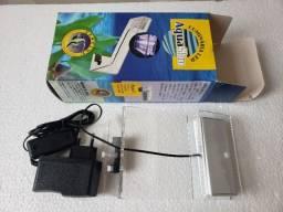 Luminária Led Aquário Aqua Slim Branco/azul Bivolt Nova sem uso