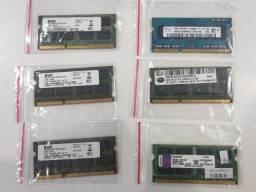 Memória Ram P/ Notebook Ddr3 4gb 1x4gb Usada C/ Garantia