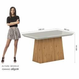 Mesa de jantar com 6 cadeiras (nova, na caixa)