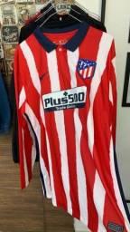 Camisa Atlético Madrid 20/21 (Manga longa)