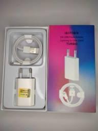 Título do anúncio: Carregador para iPhone com cabo USB