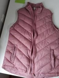 Colete rosa tamanho P