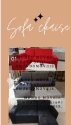 Sofá chaise ideal para seu apartamento