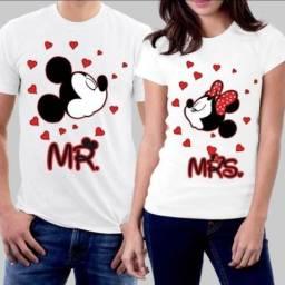 Camisa personalizada dia dos namorados
