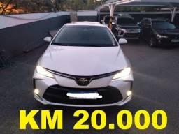 Corolla Altis Km 20.000