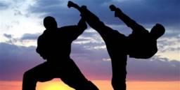 Aula de artes marciais