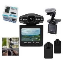 Camera Veicular Filmadora Hd Automotiva Visão Noturna Dvr Lcd 2.5