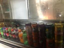 Expositor bebidas refrigerado