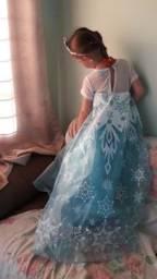 Título do anúncio: Vestido/fantasia Frozen
