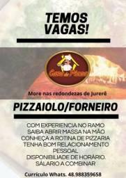 Vaga de Forneiro/Pizzaiolo